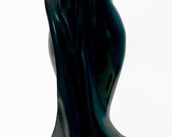 Ebony Black Wood Sculpture