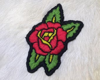 Tattoo rose patch