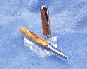 Spalted Poplar Rollerball Pen - RB025