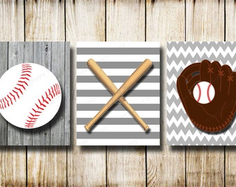 More Colors. Vintage Baseball,Canvas Baseball Wall ...