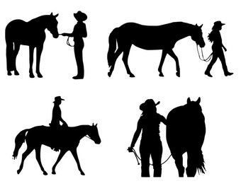 Western Pleasure Decal | Halter Horse Decal | Horse Decal | Leading Horse Decal | Equestrian Decal