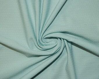 "Jacquard Mint #90 Swimwear Activewear 4 Way Stretch Nylon Spandex Lycra Solid Apparel Cosplay Craft Fabric 56""-58"" Wide By The Yard"