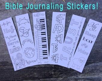 Bible Journaling Stickers Bible Journaling Set 1