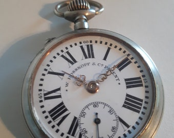 w rosskopf & co patent pocket watch
