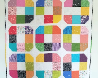 Ring Around the Rosie baby/toddler/child quilt or playmat