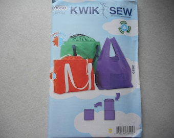 3650 Bags in Three Different Sizes ~ Pattern from Kwik Sew