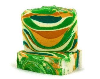Handmade Soap with Lemongrass Essential Oil  Cold Process Soap