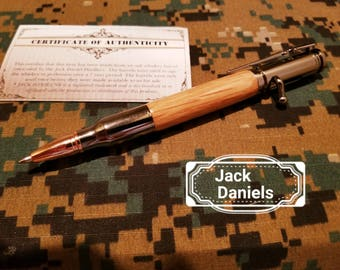Jack Daniels 30 Cal, Bolt Action Pen