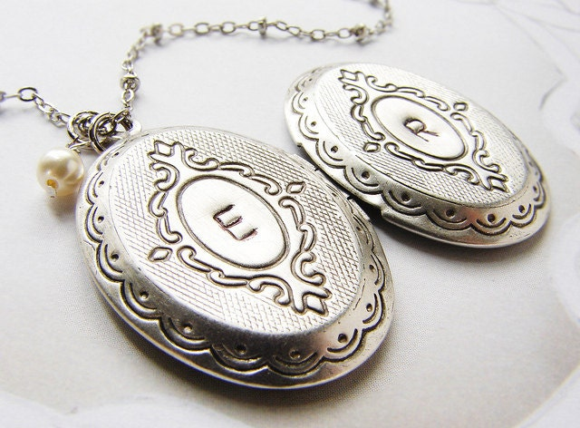 picture memorial locket sterling engraved lines heart s silver disc in lockets with grad necklace