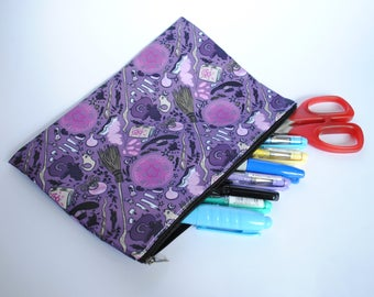 Witchy Workshop Pencil/Cosmetic Bag