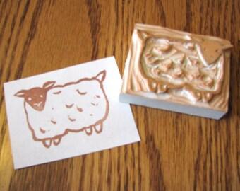 Bulky Sheep Stamp
