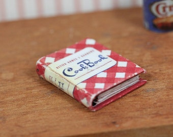 1/12th Scale Miniature Cookbook