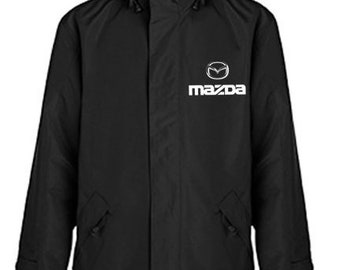 Mazda Quilted Polyester Wind and Water Resistant Winter Jacket