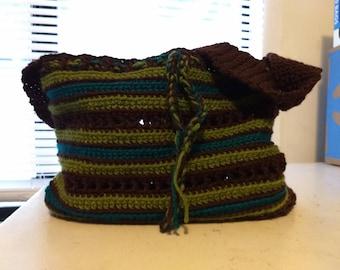 Beautiful crocheted tote