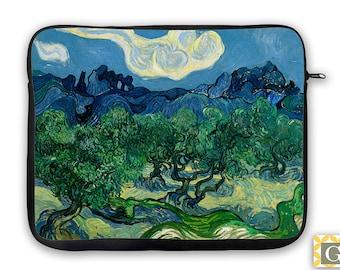 Van Gogh Trees iPad Case, Laptop Bag, Laptop Sleeve, Laptop Case, iPad Sleeve, MacBook Case, Tablet Case - Olive Trees