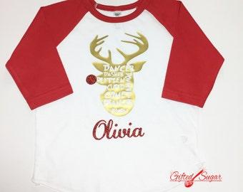 Christmas Shirt, Reindeer Shirt, Christmas, Kids Christmas shirt, Christmas Gift, Kid's Christmas Shirt, Christmas Shirt