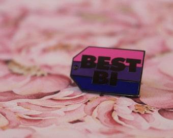 Best Bi Enamel Pin