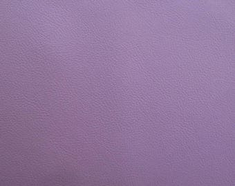Sheet of thick leather - color lilac