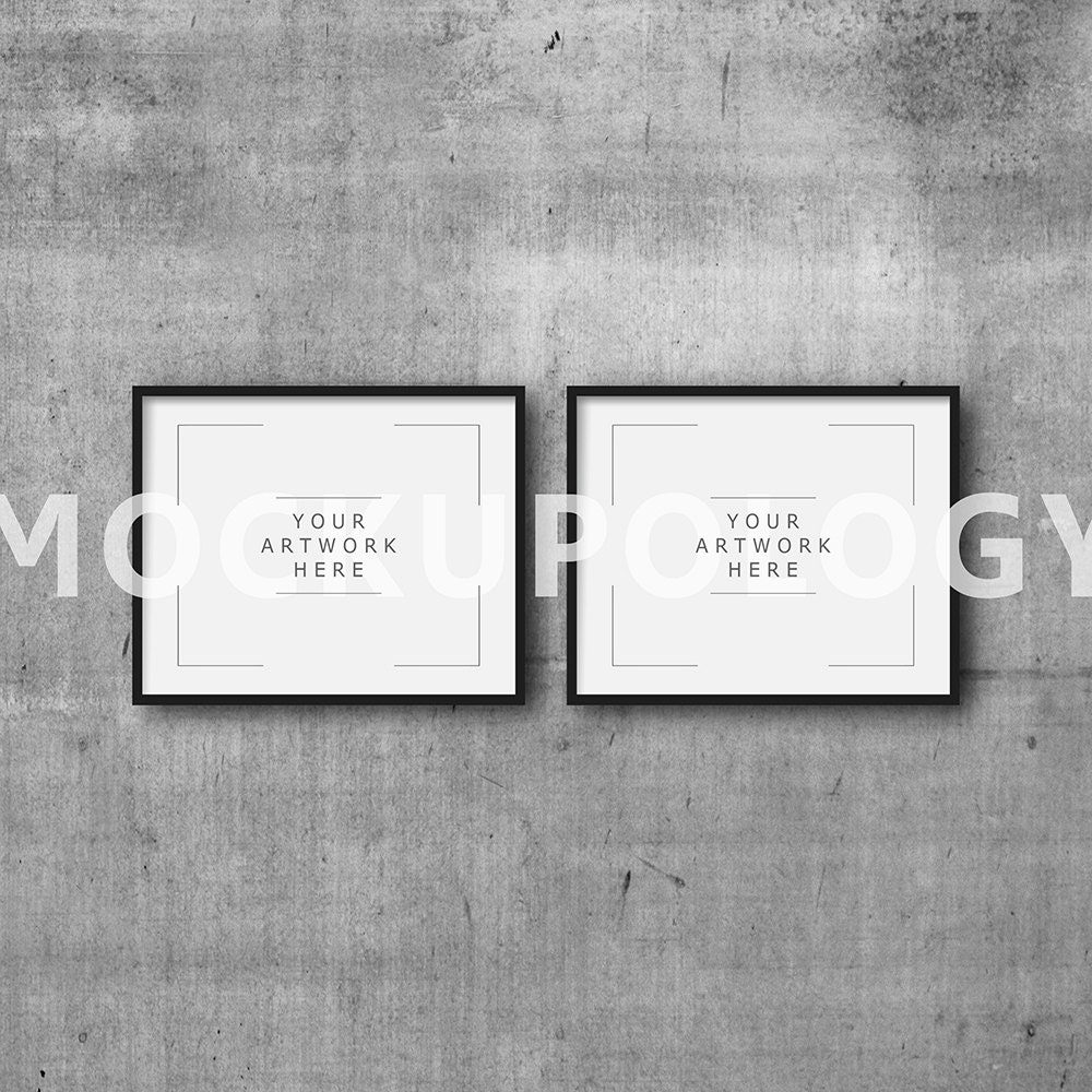 8 x 10 16 x 20 24x30 conjunto de marco negro DIGITAL