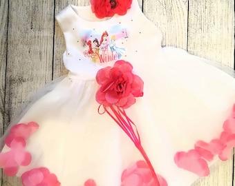 Disney Princess Birthday dress, personalized Birthday dress