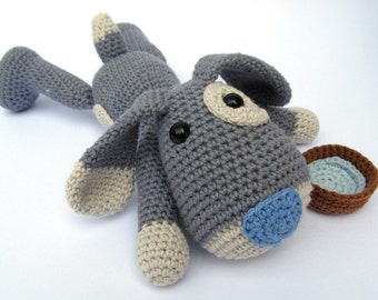 Puppy Hafi - Amigurumi Crochet Pattern / PDF e-Book / Stuffed Animal Tutorial