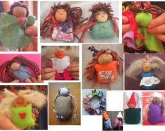 Easy Sewing Kits 10 Pack, Gnome party bag