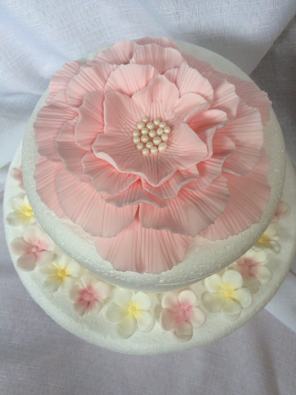 flower cake topper 25pcs peony rose carnation inspired edible