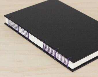 Large Notebook· Journal Diary· Art Journal· Cloth Journal· Black Journal· Dot Grid· Watercolor Sketchbook· Writers Journal· A5· Mens