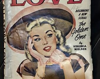 All story Love  magazine September  1945