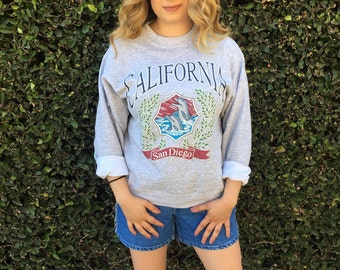 Vintage San Diego California Graphic Sweatshirt
