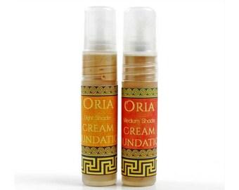 Cream Foundation Sample by Oria, face moisturizer, makeup, foundation, mineral foundation, tinted cream, face cream, Oria natural skincare