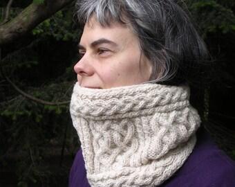 Iona Cowl (PDF knitting pattern)