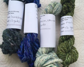 Handspun Mini Skeins