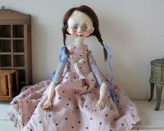 OOAK Art Doll '' Stefanie ''