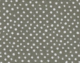 Polka dot fabric, fabric patchwork fabric mini coupon grey confetti