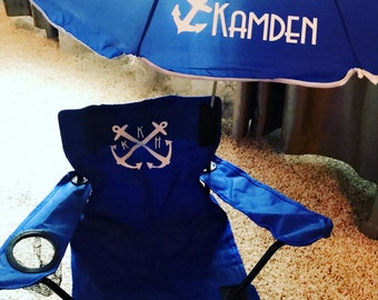 Toddler Kids Chair With Umbrella