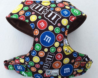 M&M Comfort Soft Dog Harness - Made to Order -