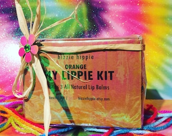 1 DIY Lip Balm Kit. Makes 3 all natural lip balms! CUSTOMER FAVORITE! Pick from 9 flavors! bh Lippie Kit. Over 500 kits sold!