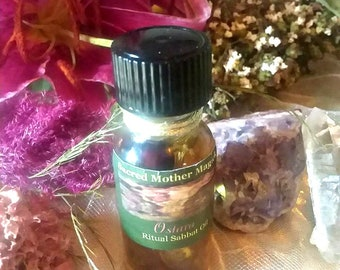 OSTARA Sabbat Oil* Witchcrafted Oil Blend* Sacred Sabbat Oil* Ritual OIl* Spring Magick* Essence of Eostre* Spirit of Spring* For Ritual Use