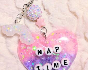 Nap Time/Rainbow/Cellphone Charm
