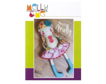 SALE PATTERN Miss Melly Doll by Melly & Me MM121