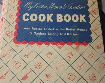 My Better homes & Gardens Cook Book 1938 edition