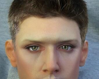 MODOLL - 1/3 Size Jensen Ackles Dean Winchester BJD Head from Supernatural