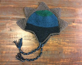Custom Stegosaurus Dinosaur Hat - Toddler size