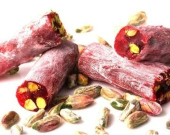 Turkish Delight with Pistachio & Pomegranate (350 grams/12.34oz)