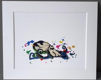 Octopus Giclée Print