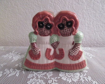 Vintage Sittre Ceramic Napkin Holder