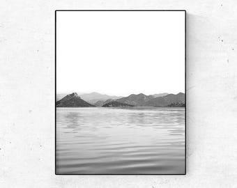 Gifts For Travelers, Mountain Art, Wanderlust, Minimalist Poster, Fine Art Photography Prints, Wanderlust Gift, Modern Art, Wall Art, Print