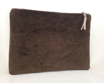 Gift for her, Zipper clutch, zippered clutch, Velvet Clutch Purse, Clutch Bag, Clutch wallet, bags and purses, boho fashion, zipper pouch