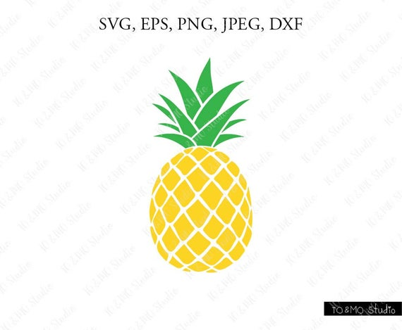 pineapple svg pineapple clipart pineapple print svg svg rh etsy com clipart pineapple slice clipart pineapple outline